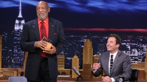 "Cosby Compliments Fallon's ""Chiropractonography"""
