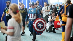 Fans in Costume Take Over Comic-Con