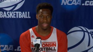 Wisconsin Basketball Player Accidentally Admits Crush