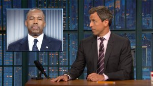 'Late Night': Checking in With HUD Sec. Ben Carson