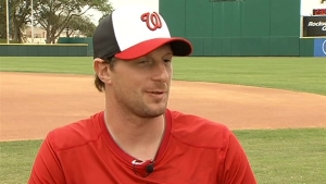 Max Scherzer on New Season With Nats