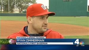 Ryan Zimerman Takes Over at First Base