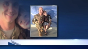 Airman Surprises Son's Class With Story Via Skype