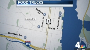 On-Street Sites Proposed for Food Trucks in Alexandria