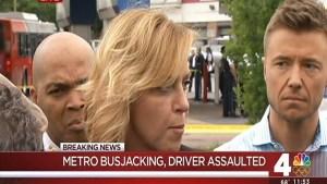 Hijacked DC Metrobus Hits, Kills Gas Station Man