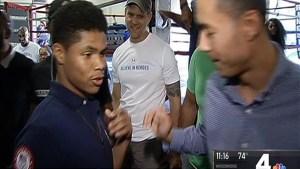 Welcome Home to Virginia for Boxer Shakur Stevenson