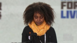 11-Year-Old Naomi Wadler of Alexandria Tells March Kids Know Right From Wrong