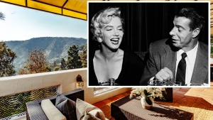 Marilyn Monroe and Joe DiMaggio's Honeymoon Home for Sale