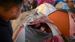 Asylum Seekers Waiting in Mexico Arrive for Hearings in US