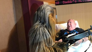 Dying Man's Wish to See New 'Star Wars' Movie Comes True