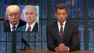 'Late Night' Closer Look at Trump Turning on Sessions