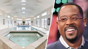 Martin Lawrence's $8.5M Pad Includes Indoor Pool, Bowling