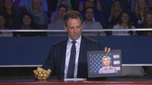 'Late Night': Meyers Holds 2nd VP Debate