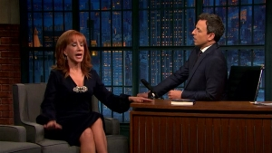 'Late Night': Kathy Griffin's Run in With Suge Knight
