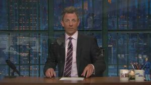 'Late Night': Eminem's Trump Rap Inspired Meyers