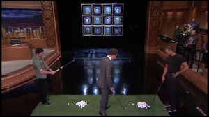 "Fallon Challenges Rory McIlroy on ""Tonight"""