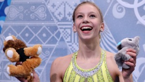 Figure Skating Photos: The Kiss-and-Cry Zone