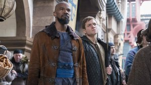 Egerton, Foxx Embrace Challenge of Reviving 'Robin Hood'