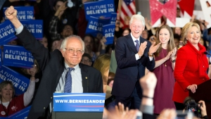 Sanders Heads Into Ind. Primary Within Striking Distance of Clinton