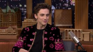 'Tonight': Chalamet Reacts to Being Photoshopped Into Memes