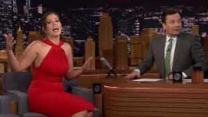 'Tonight': Kardashian Picked Spinach Out of Graham's Teeth