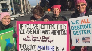 Women's March 2018 Encourages Women to Vote, Run For Office