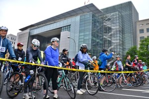 Inaugural DC Bike Ride Pushes Through Amid Dreary Skies