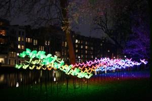 Georgetown GLOW Tucks Lighting Displays Into Neighborhood