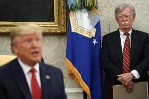 Bolton Called Giuliani's Ukrainian Efforts 'Drug Deal': Hill
