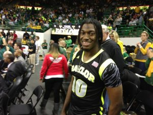 RGIII Gives Baylor Pep Talk Before Big Upset