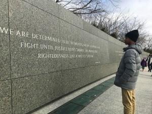 MLK Day at Martin Luther King Jr. Memorial