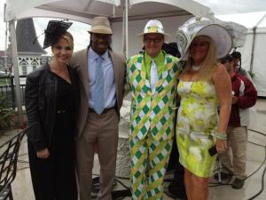 RGIII At The Kentucky Derby