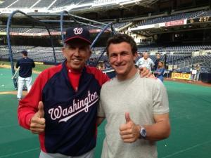 'Johnny Football' and the Nationals