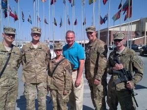 Va. Sen. Kaine Visits Troops in Afghanistan