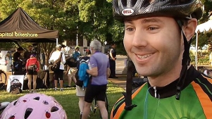 Cyclists Hit the Streets for Bike to Work Day