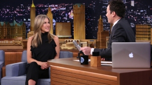 Lip Flip: Jennifer Aniston Interviews Herself