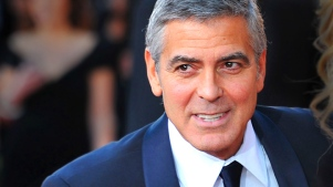 "Clooney on Philippine Typhoon: ""Terrible"""