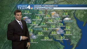 Get your forecast from Storm Team 4's Doug Kammerer.