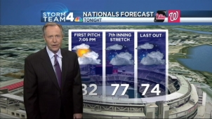 Storm Team4 has the forecast for July 31, 2014.