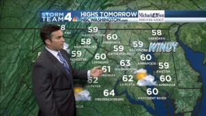 Storm Team4's Doug Kammerer has your Wednesday, Oct. 22 evening forecast.