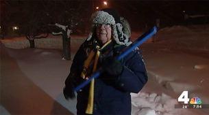 Snow Stick Challenge: Boredom Cures