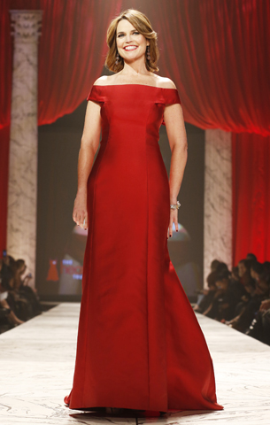 Gabby Douglas, Minka Kelly Rock the Runway at 2013 Red Dress Show