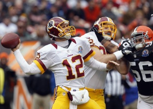 No Bob, No Prob: Redskins Win Fifth Straight