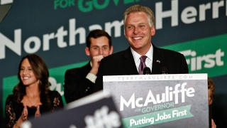 McDonnell, McAuliffe Share Ideas Over Lunch