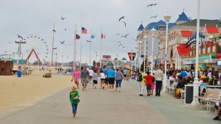 Ocean City's Boardwalk Tram Adds Extra Week of Service