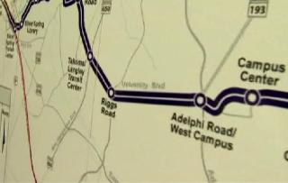 Purple Line Supporters Hold Kickoff Rally