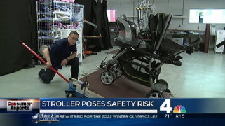 Double Stroller Poses Safety Risk: Report