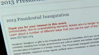 Email Mixup Over Inaugural Tickets