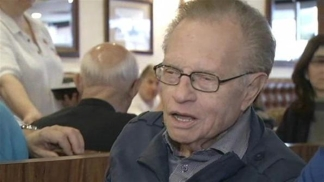 "Larry King Still Adjusting to Life After ""Live"""