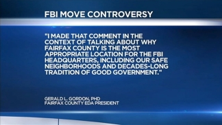 FBI Relocation Comment Controversy